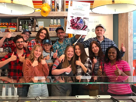 "Aloha POKE in Unterbilk gewinnt Jubiläumsveranstaltung ""tour de menu 2019"""