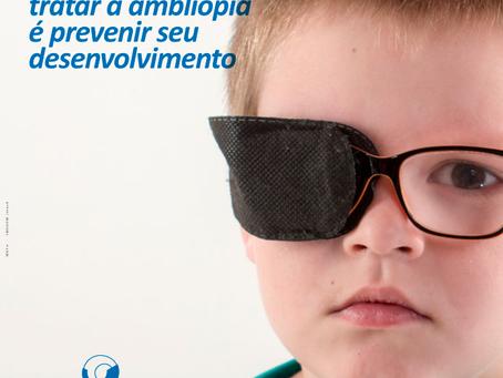 Mais importante que tratar a ambliopia é prevenir seu desenvolvimento