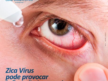 Zika Vírus pode provocar Uveíte