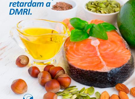 Nutrientes podem retardar a Degeneração Macular relacionada à Idade.
