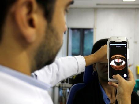 Tecnologia brasileira permite levar o exame de fundo de olho a lugares remotos