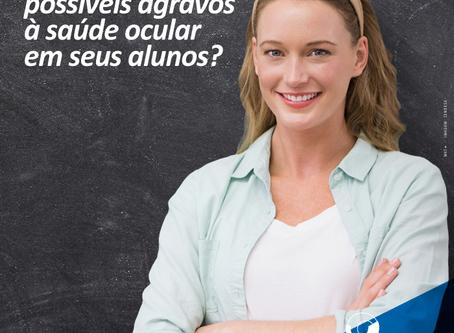 Ministérios da Saúde e Educação auxiliam professores na identificação de agravos à saúde ocular