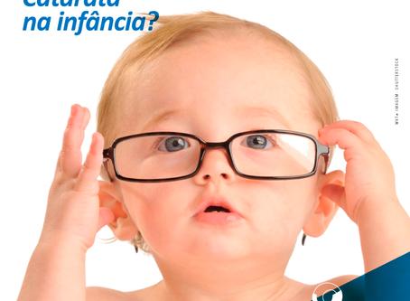 Catarata na Infância. O que você precisa saber?