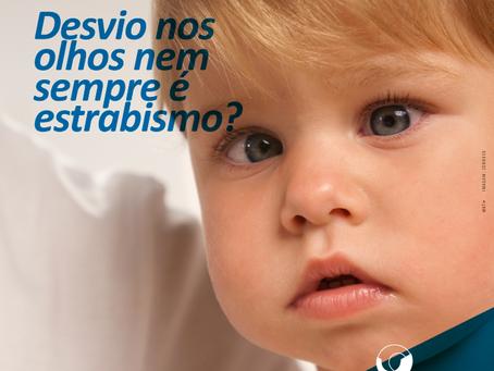 Entenda o que é pseudoestrabismo e a importância do diagnóstico precoce