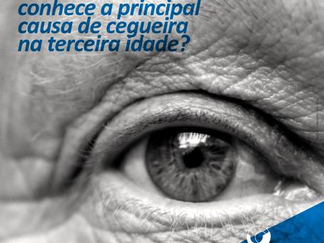 DRMI: Você conhece  a principal causa de perda visual na terceira idade?