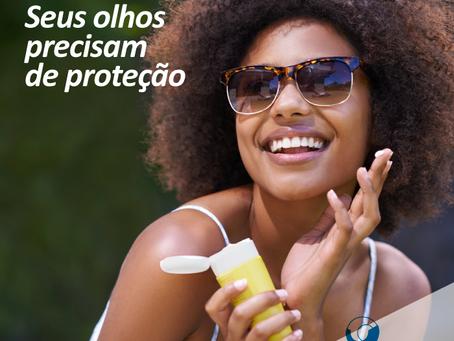 Verão: Seus olhos precisam de proteção