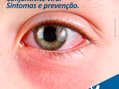 Conjuntivite viral no inverno. Alerta aos usuários de lentes de contato.