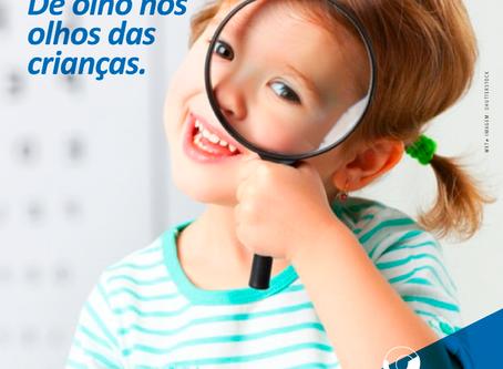 Ambliopia. Cuidando da visão das crianças.