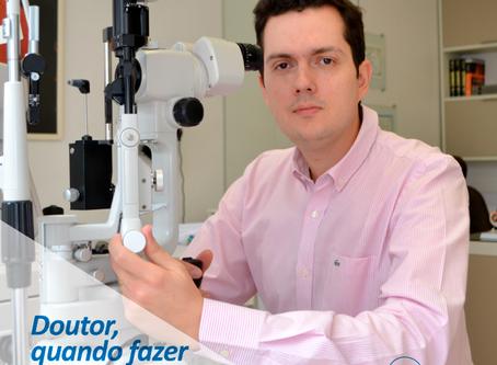 Doutor, quando fazer mapeamento de retina?