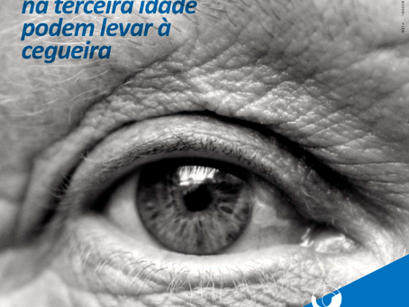 Traumas oculares na terceira idade podem levar à cegueira