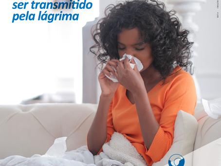 Coronavírus pode ser transmitido pela lágrima