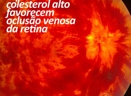 Oclusão Venosa Retina. Conheça os fatores de risco