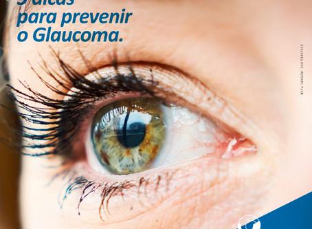 5 dicas da Academia Americana de Oftalmologia para prevenir o Glaucoma.