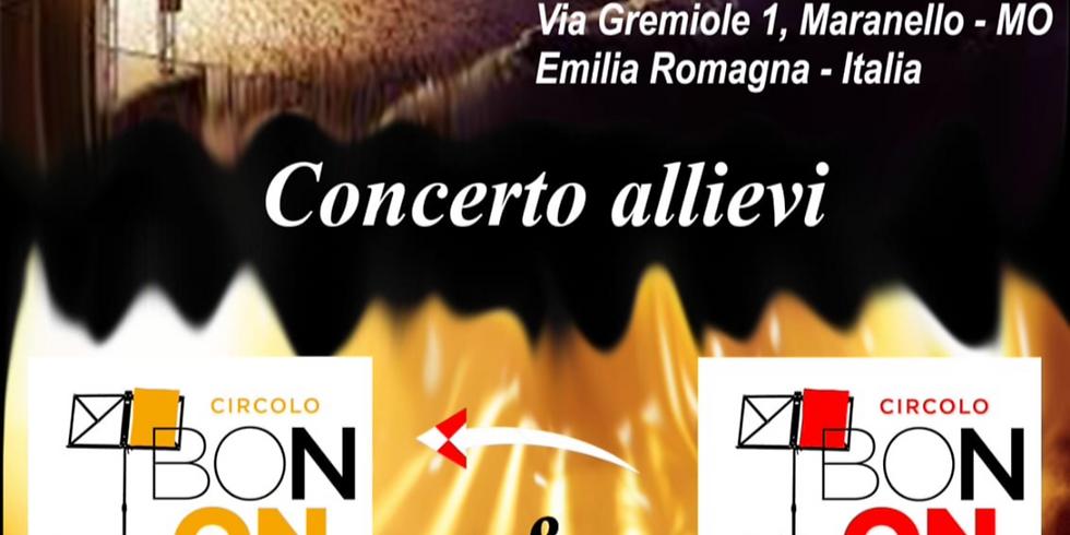 CONCERTO ALLIEVI del CIRCOLO BONONCINI