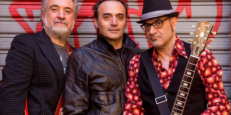 MELPREVITE & THE GANGSTERS OF LOVE POWER ROCK AND ROLL TRIO LIVE!