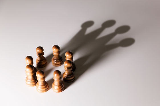 business leadership, teamwork power and
