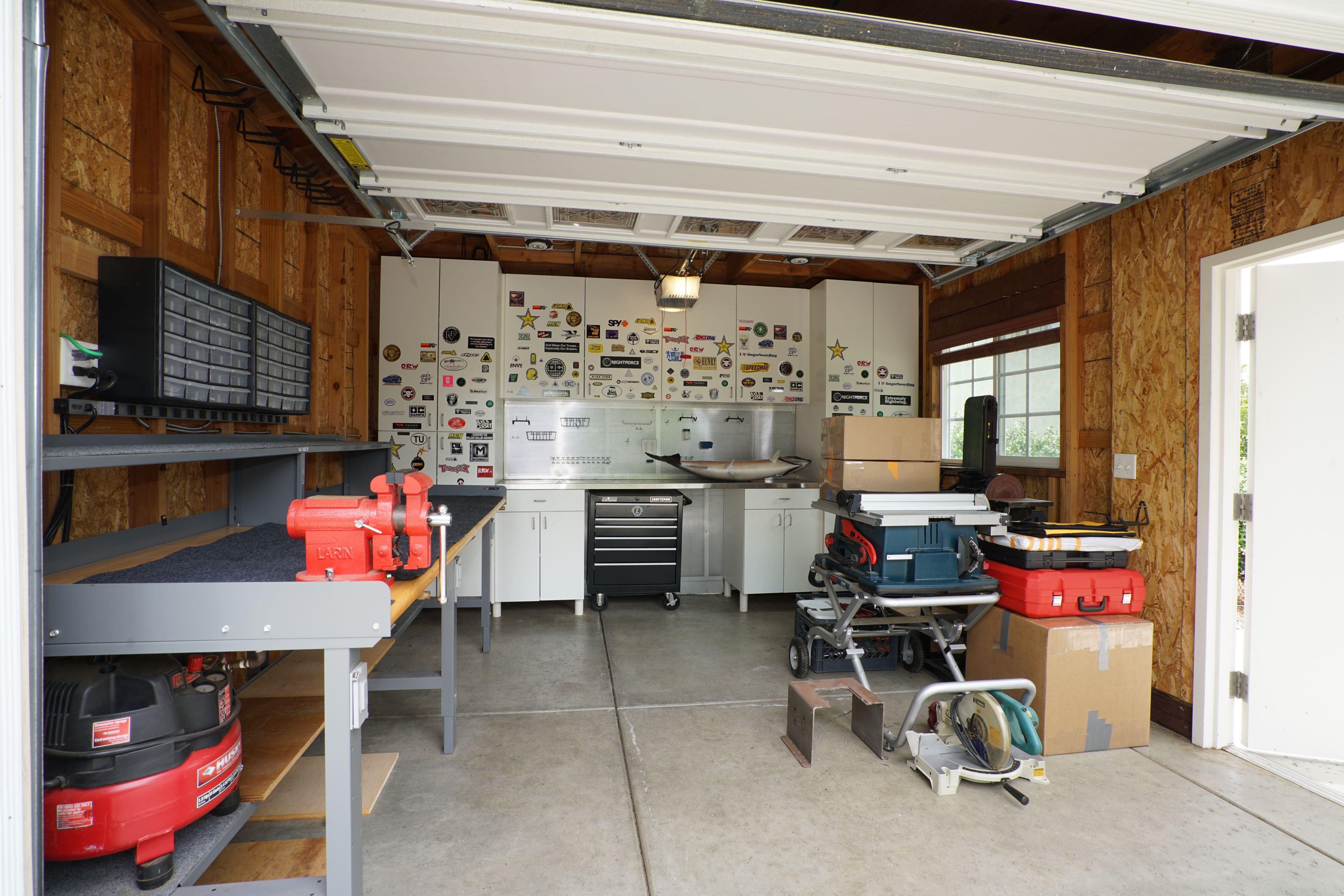 Upper Yard Shed and Workshop Interior