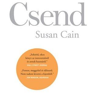 Könyvajánló: Susan Cain: Csend