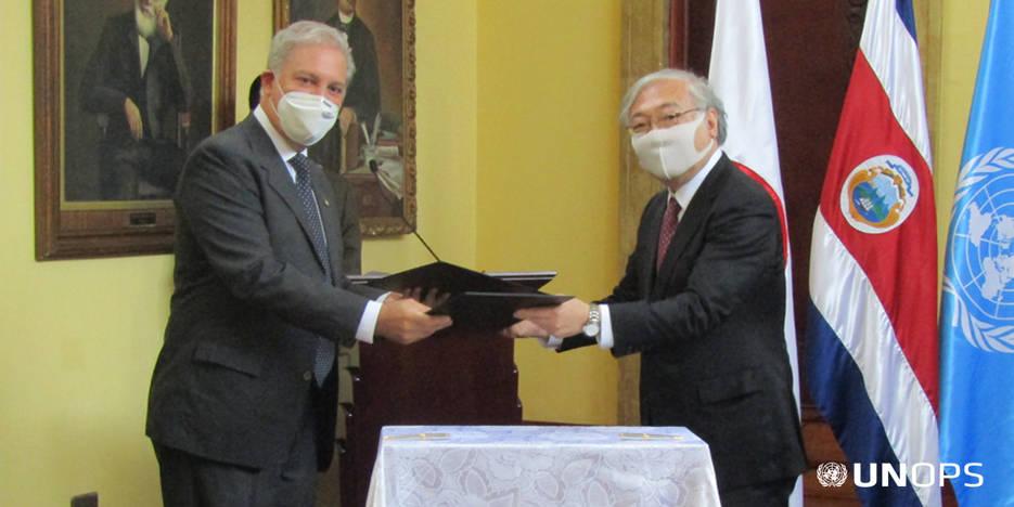 Japón dona equipo médico a la Caja para atender pacientes Covid-19
