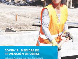 COVID-19: Medidas de prevención en obras. UNOPS/OPS