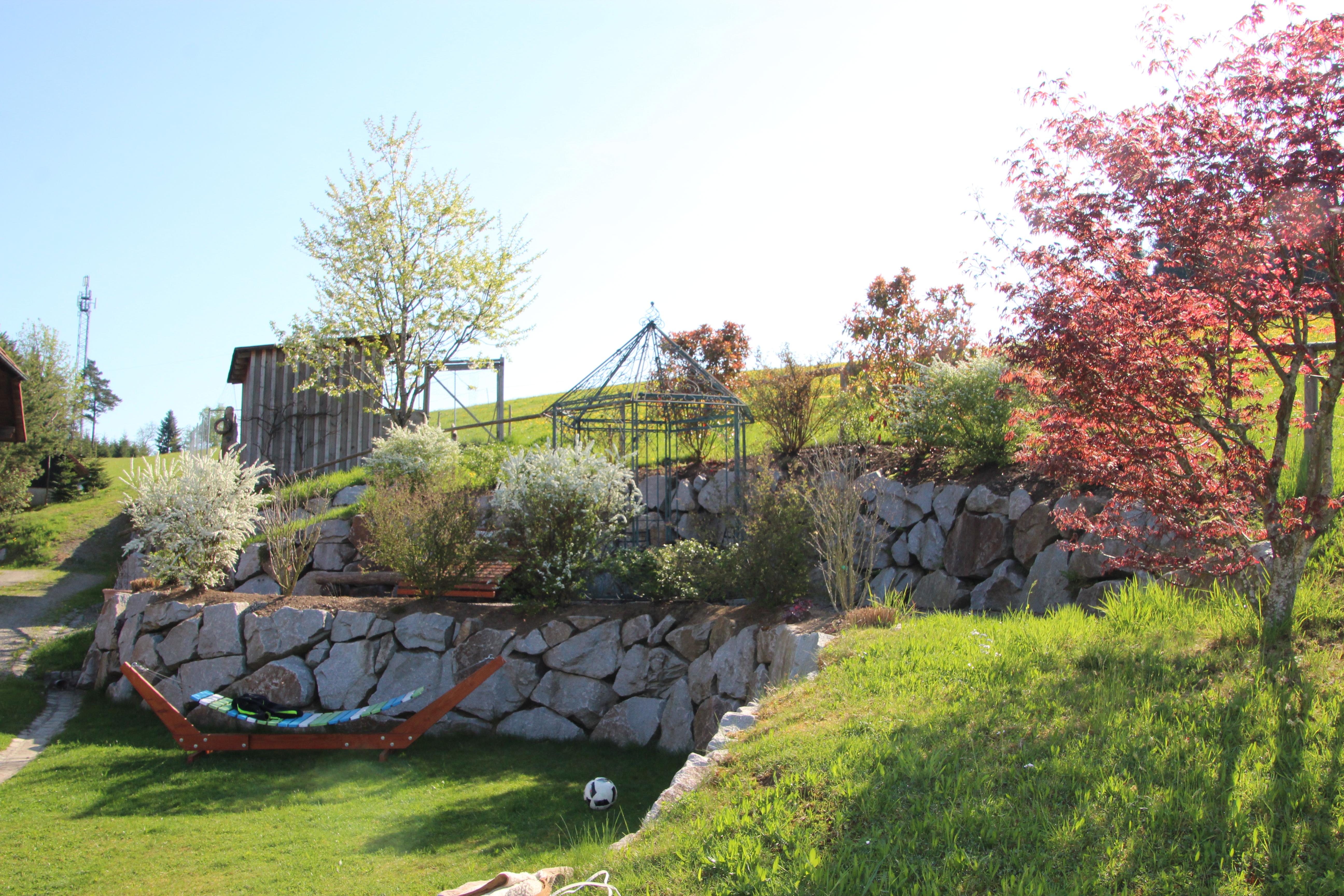 Garten mit Hühnerhof