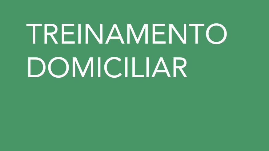 TREINAMENTO DOMICILIAR