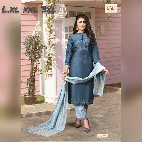 Dress-silk