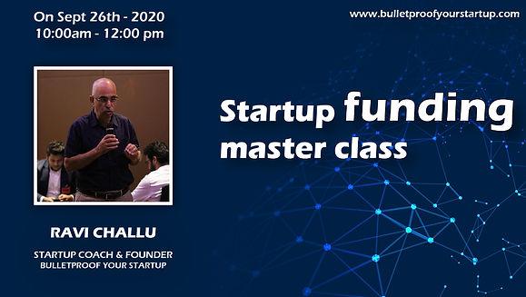 Startup Funding Master Class