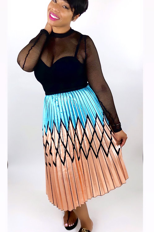 Sunday Brunch Midi Skirt
