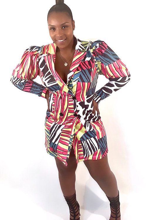 Exotica Dress/ Jacket