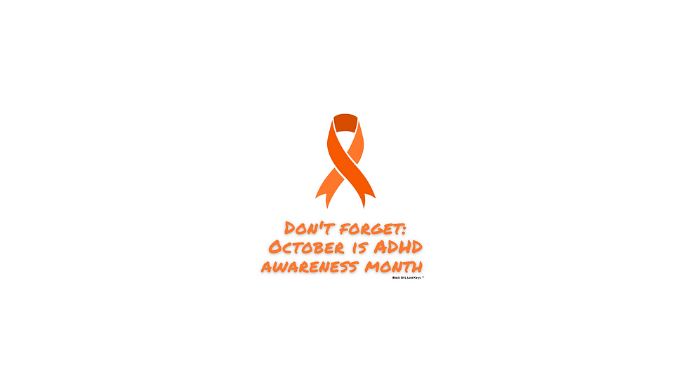 Limited Edition ADHD Awareness Month Stickers