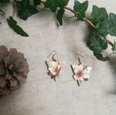 Boucles d'oreille fleures de cerisier