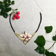 Collier fleures de cerisiers
