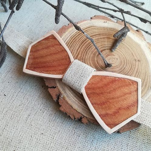 Nœuds papillon en bois de rose