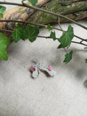 Puce d'oreille éléphant pour enfant