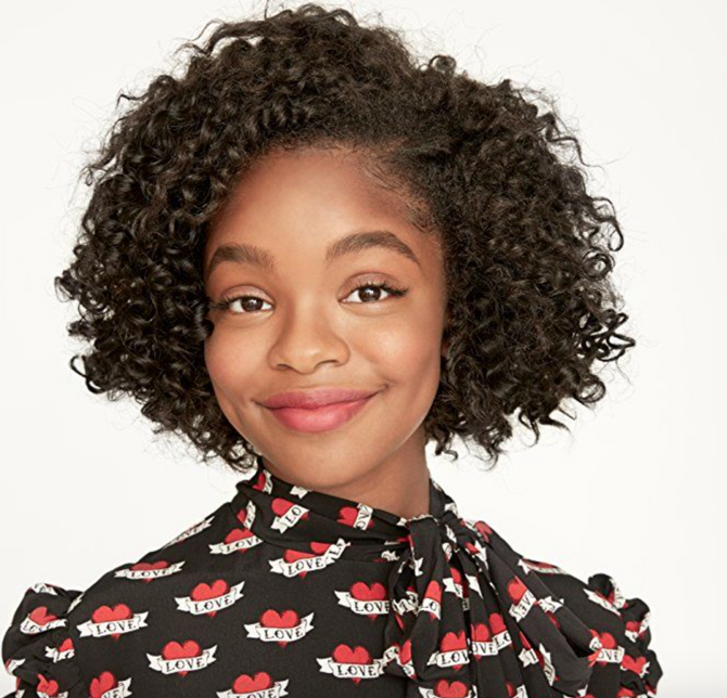 Hollywood's New Teenage Titan: Marsai Martin