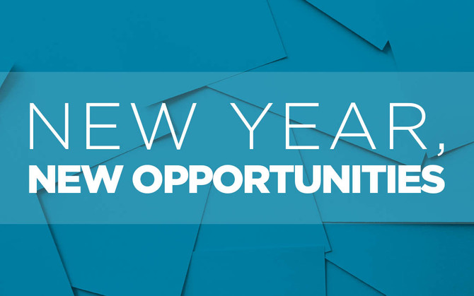 New Year! New Opportunities!