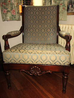 """Show wood"" arm chair"