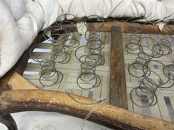 Installation of springs