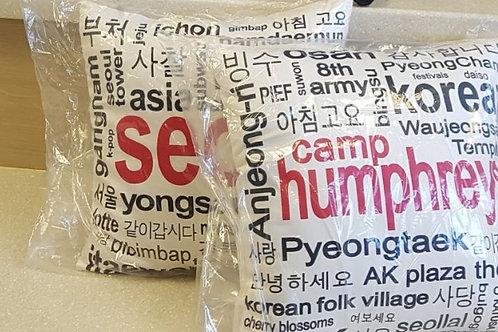 Camp Humphreys / Seoul Pillow