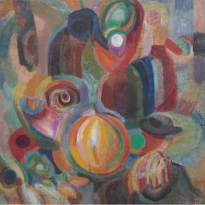 Sonia Delaunay-Terk - Portuguese Market 1915