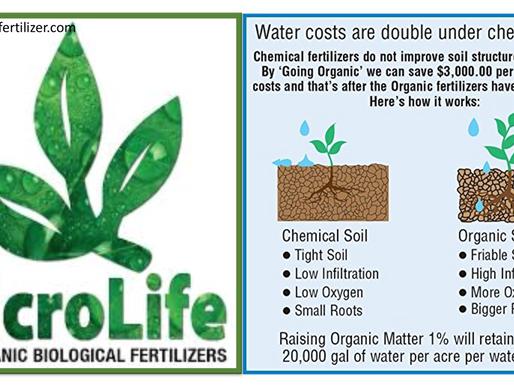 Why use Organic Biological Fertilizers?