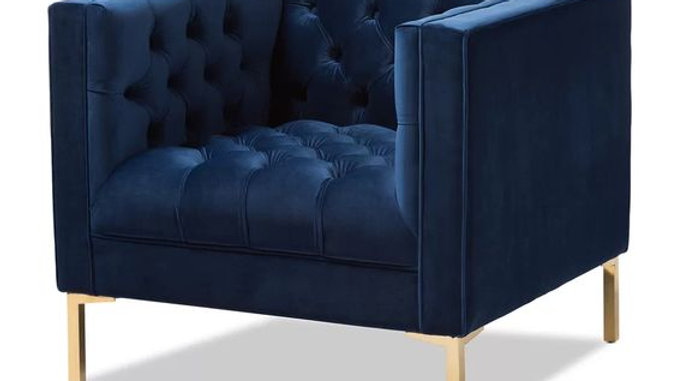 Royal Blue Luxury Chair