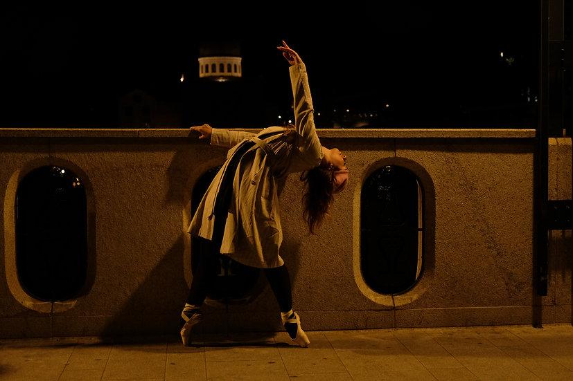 Dancing in the night