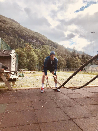 Trainingsauftakt in Norwegen