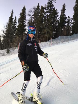 Training und Europacup-Eröffnung in Schweden
