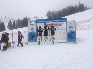 Sieg beim CIT FIS Race am ATA