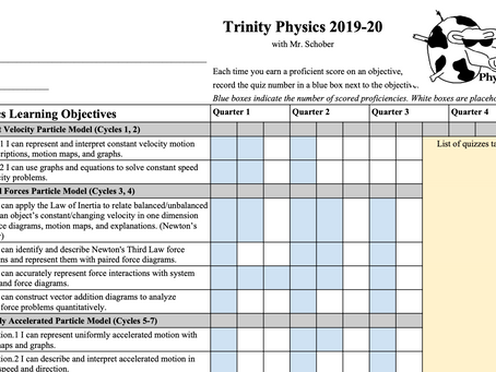 A Simple-ish System for Standards-Based Grading