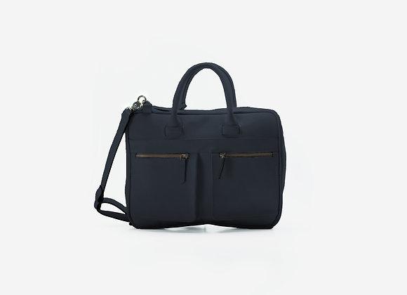 Briefcase Navy Blue