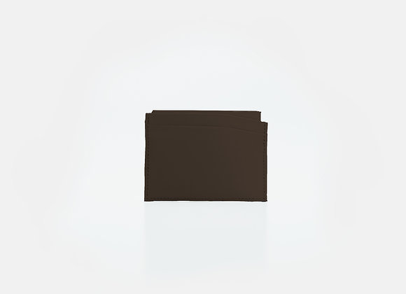 Card Holder Brown Wood